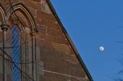 5th Mar 2012 - Moon over St Marks Church