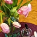 still life with tulips by reba