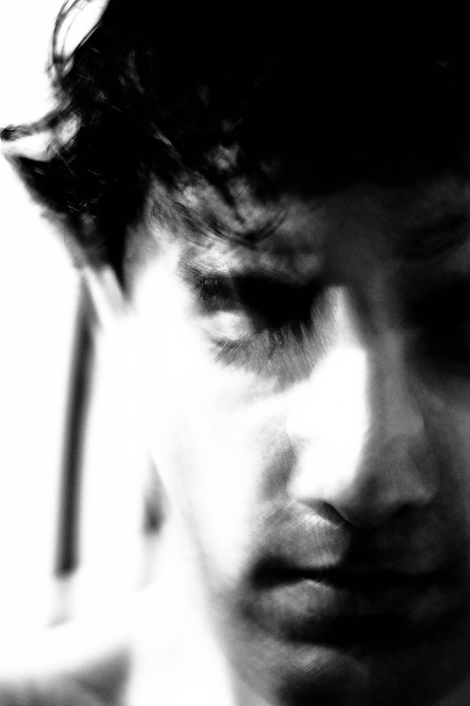 Brooding melancholy by vikdaddy