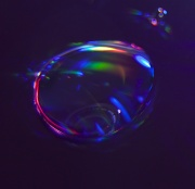 20th Mar 2012 - Water droplet on a CD