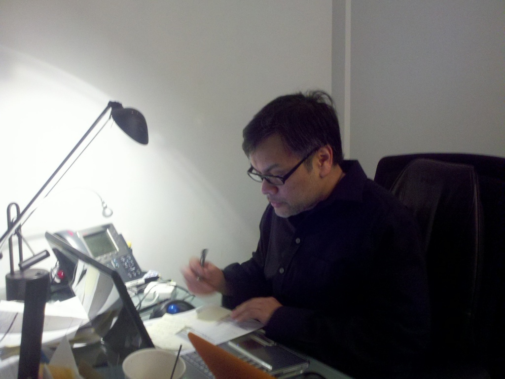 Working by bambilee