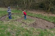 22nd Mar 2012 - Pond Digging