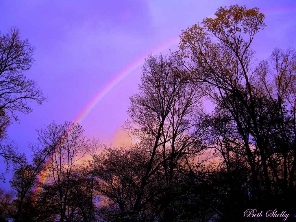Amazing Rainbow by vernabeth