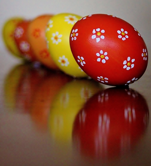 """""""Time to dust off the Easter eggs..."""" by sabine"""