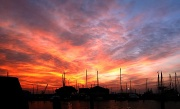 1st Apr 2012 - Sunset at the Chioggia yacht club