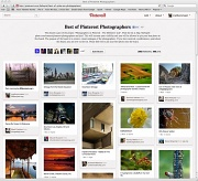 4th Apr 2012 - Pinterest Photographers - The Definitive List