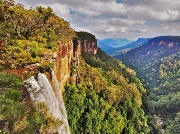 6th Apr 2012 - Fitzroy Falls in sunlight