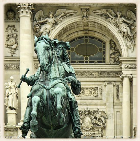 """Vienna - Heldenplatz (""""Heroes' Square"""") by ltodd"""