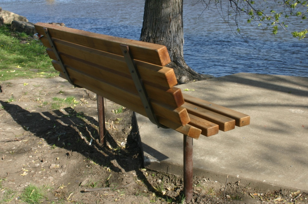 Solitary Bench by ladykassy46