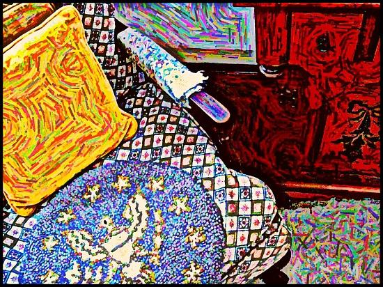 Arm Chair by olivetreeann
