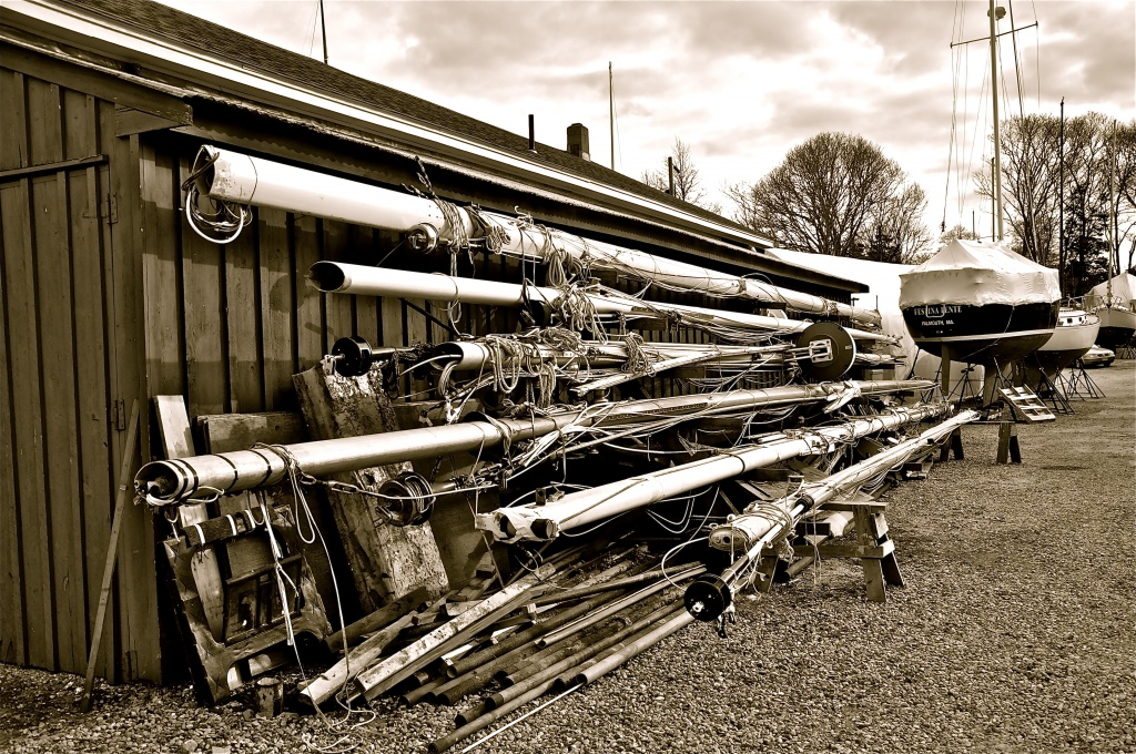 Masts and pipes by sailingmusic