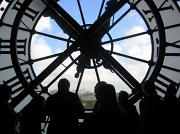 12th Apr 2012 - The clock at the Musee D'Orsay