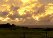 4th Apr 2012 - Sunset Over Pasture