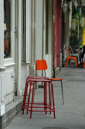 Street seats by parisouailleurs