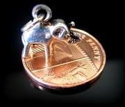 20th Apr 2012 - Elephant on a Shiny Penny on a Hob