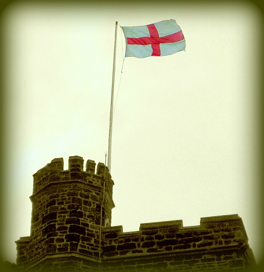 Cry Hurrah for England, Harry and St George by filsie65