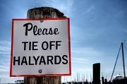 22nd Apr 2012 - Please Tie Off Halyards