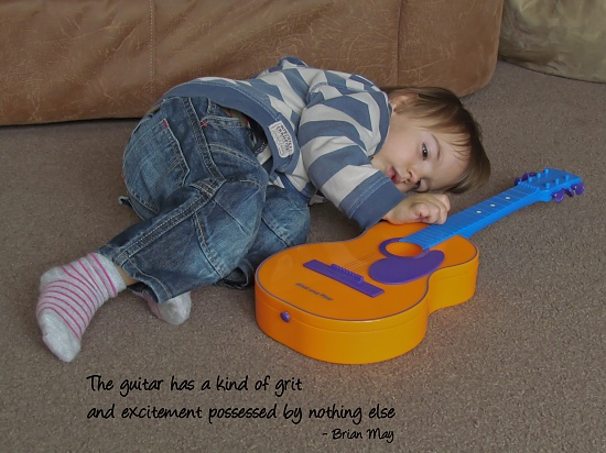 Guitar by suebarni