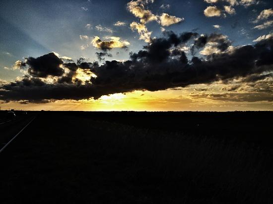 Norfolk skies: Two - Sunset by manek43509