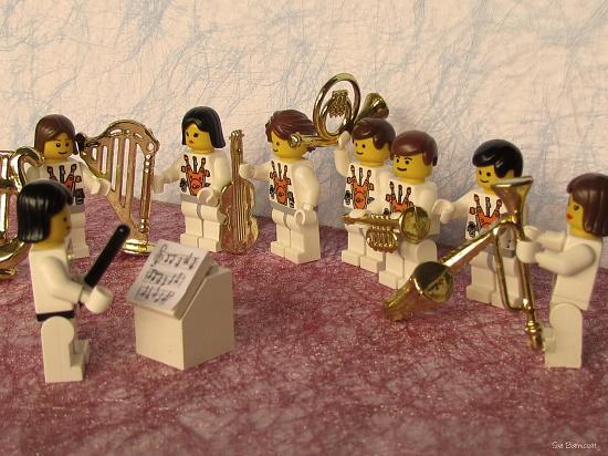 Orchestra Practice by suebarni