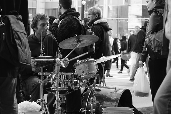 Street Music by northy