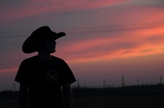 3rd May 2012 - Sunset Cowboy