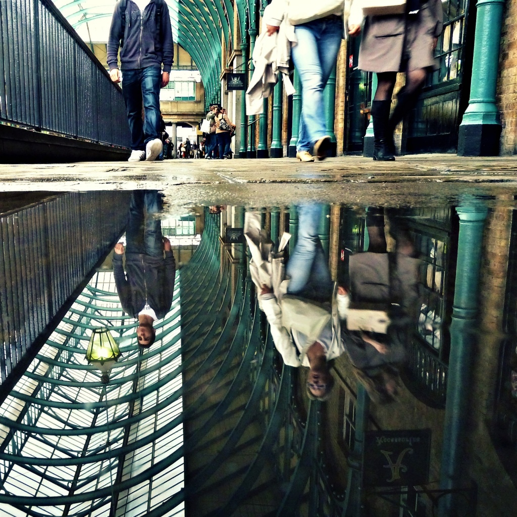 Puddle, Covent Garden  by rich57