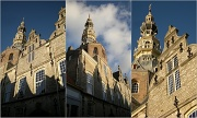 14th May 2012 - Facade  and tower of the old  town hall  from Zierikzee