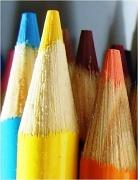 14th May 2012 - Yellow, blue, orange.