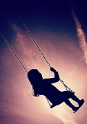 19th May 2012 - swinging in the sunset