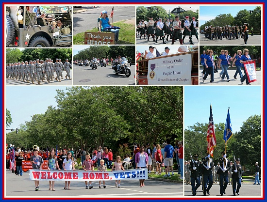 Welcome Home The Heroes Parade by allie912