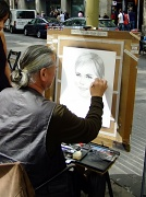 19th May 2012 - Street artist
