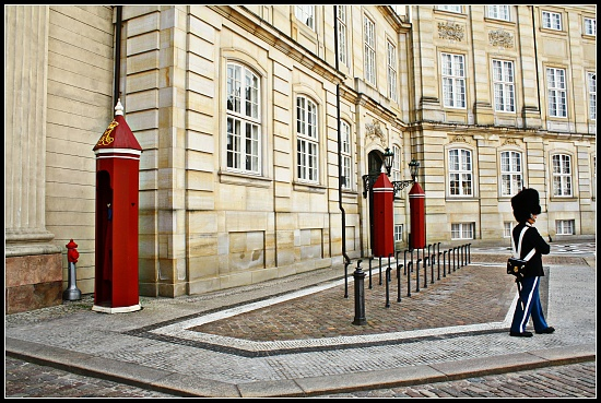 Amalienborg Castle by lily