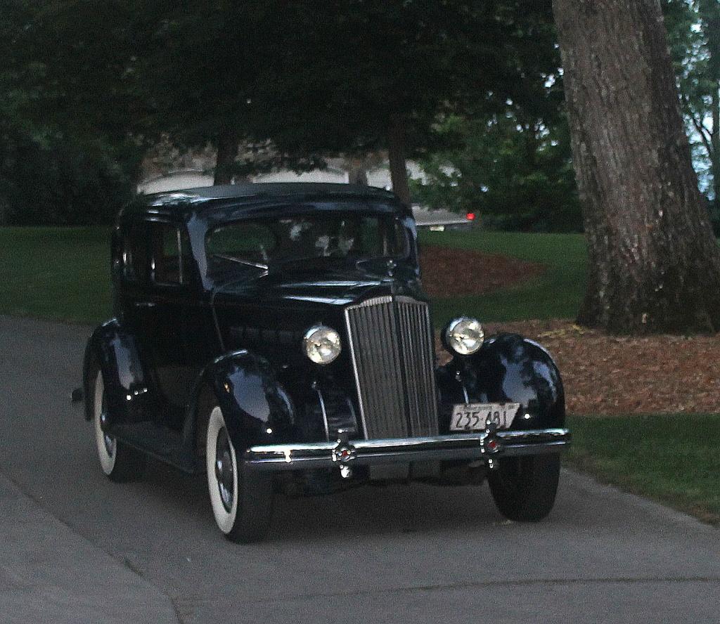 Vintage Packard by vernabeth
