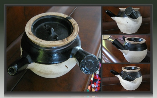 Double-sided Teapot by mozette