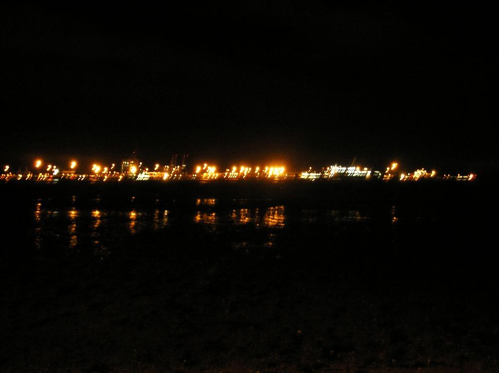 Felixstowe Lights by Scrivna
