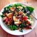 Halloumi and tabbouleh salad by rich57