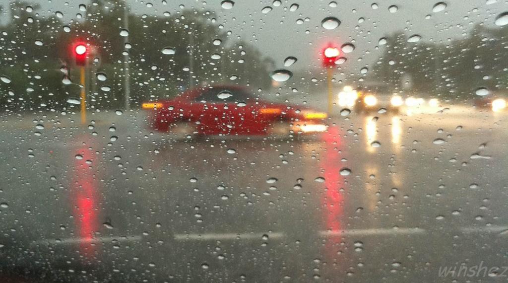 in the rain by winshez