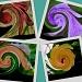 Swirling Flowers by stownsend