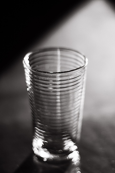 the glass is empty by pocketmouse