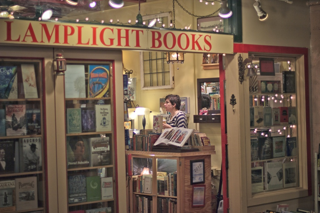 Great Book Store At The Market by seattle