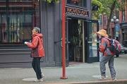 6th Jun 2012 - Tourists In Pioneer Square