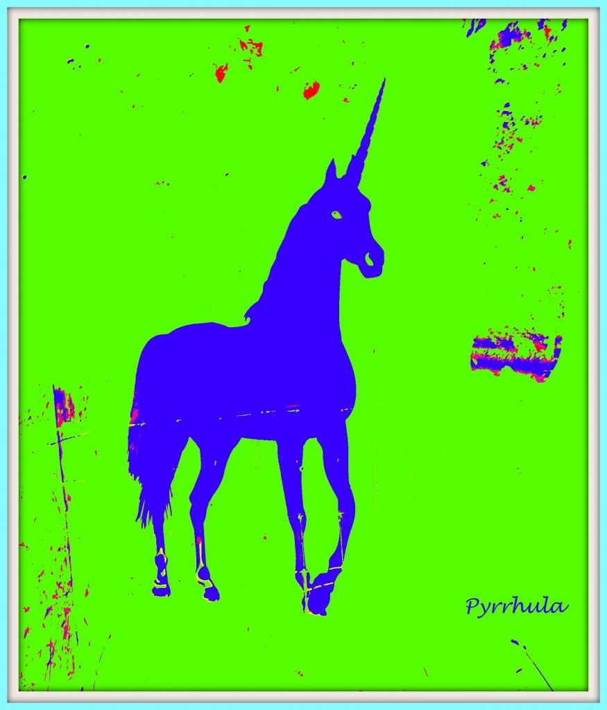 Unicorn . by pyrrhula