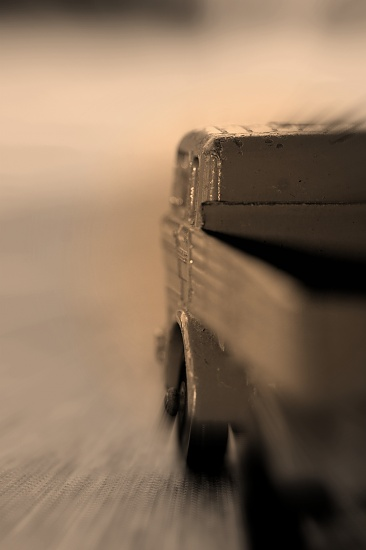 Trucking Along by digitalrn