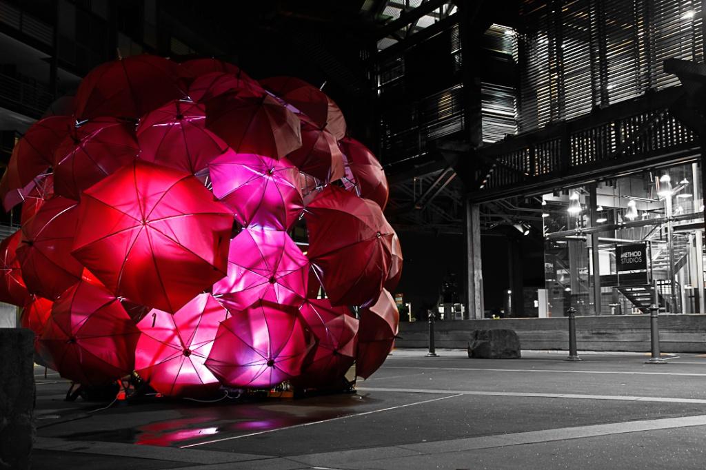 Enough umbrellas? by abhijit