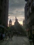 14th Jun 2012 - Walking at the sunset (HDR shot)
