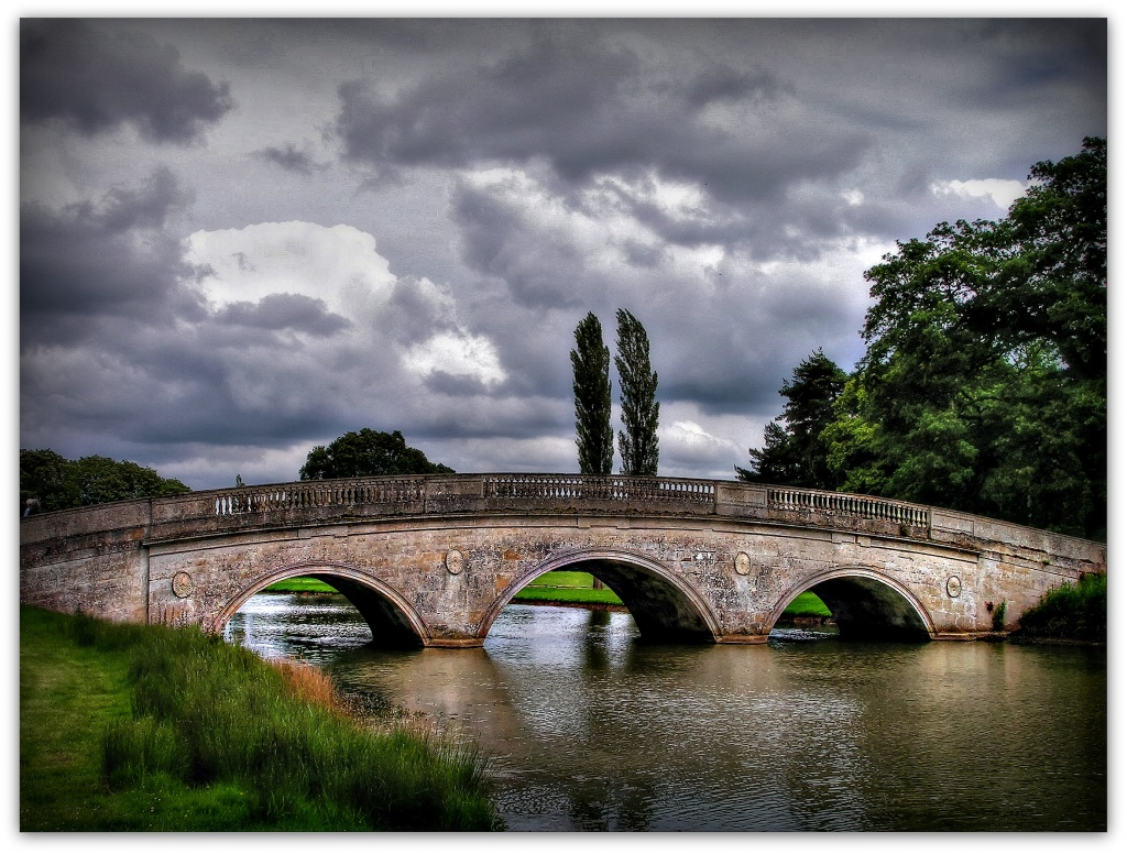 The Bridge at Cottesbrooke Hall by judithdeacon