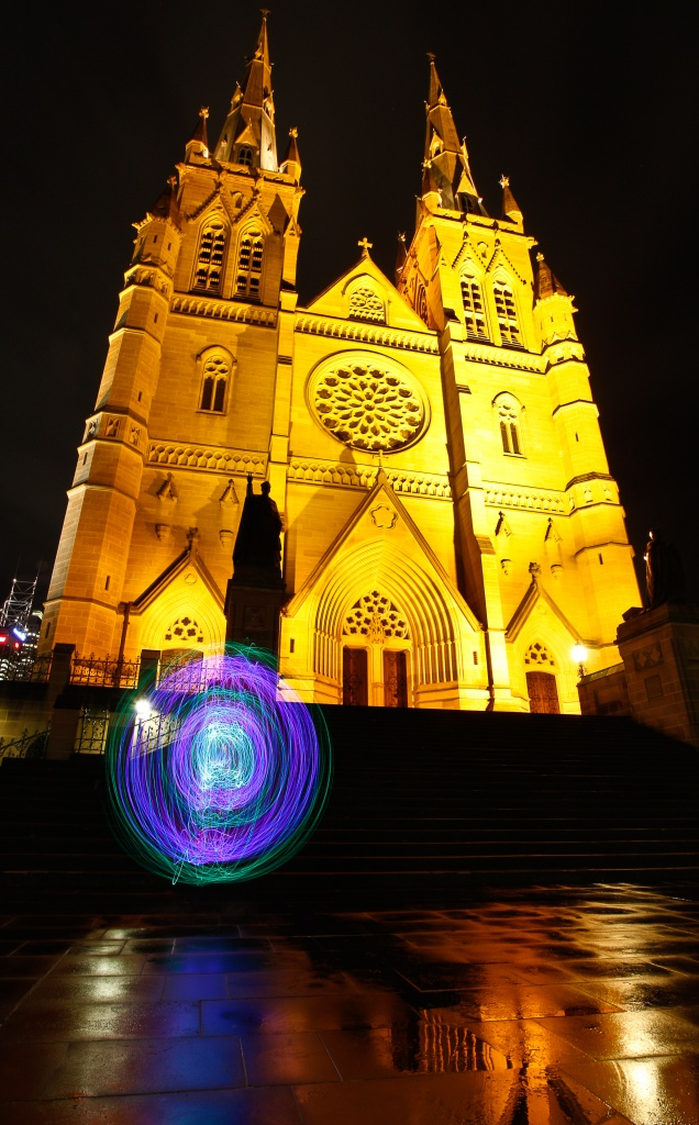 Orbs and churches by abhijit