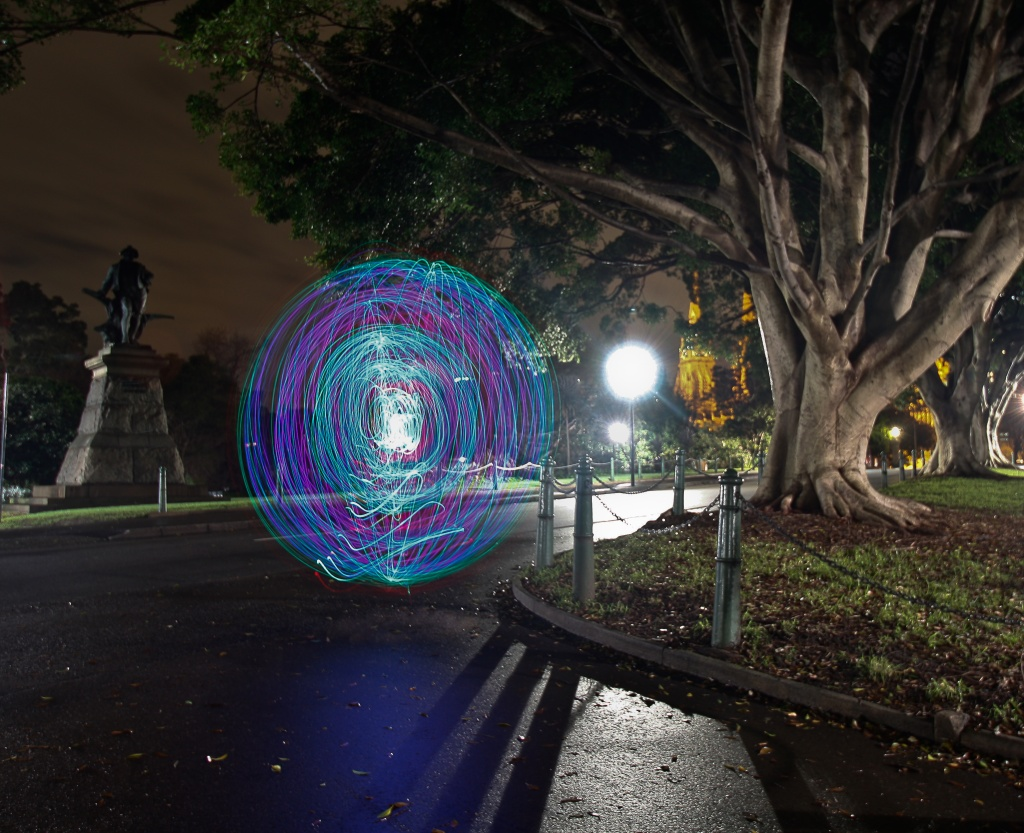 Orbs in the park by abhijit