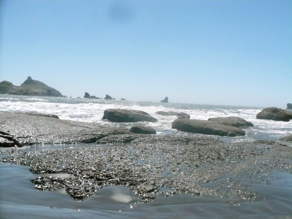 Pebble Beach, Crescent City by pandorasecho